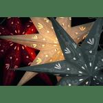 LED dekorācija papīra zvaigzne METASOL, 70cm, E14 Max. 25W, IP20