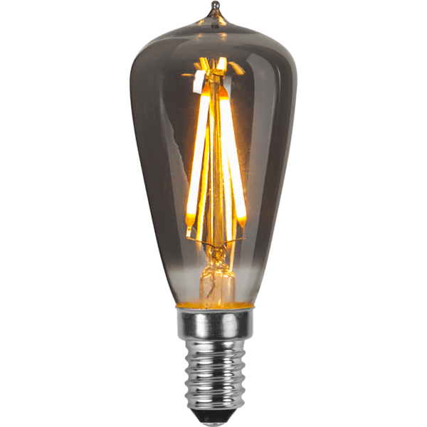 DEKORATĪVĀ LED SPULDZE E14 ST38 1,6W 30lm 2100K STARTRADING