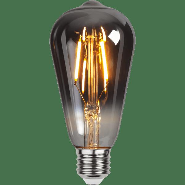 DEKORATĪVĀ LED SPULDZE E27 ST64 1,8W 80lm 2100K STARTRADING