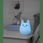 LED Naktslampa bezvadu Bunny MC 15cm, IP20, USB 18650