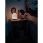 LED Naktslampa bezvadu Oval RGB+W 11cm, IP20, USB 18650
