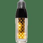 DEKORATĪVĀ LED SPULDZE AR GRAVITĀTES SENSORU E27 T40 FLAME 3,3W 105lm STARTRADING