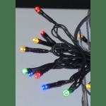 LED āra virtene, krāsaina, 7,2m, 120LED, IP44, ar režīmiem, 10m strāvas vads