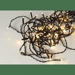 LED āra virtene, silti balta gaisma, 16m, 160LED, IP44, 10m strāvas vads