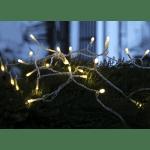 LED āra virtene, silti balta gaisma, 7,2m, 120LED, IP44, ar režīmiem, 10m strāvas vads