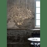 LED āra dekorācija piekarama Mounty Warm white, 30cm, 96LED, IP44, 8 režimi