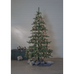 LED āra virtene Ziemassvētku eglītei, silti balta 3000K, 8x2m, 360LED, IP44