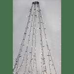 LED āra virtene Ziemassvētku eglītei, 3000K, 8x2m, 360LED, IP44