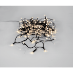 LED āra virtene Crispy Ice, 3000K, 12m, 180LED, IP44