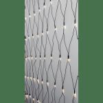 LED āra virtene tīkls, 3000K CRISPY ICE WHITE, 2x2m, 160LED, IP44