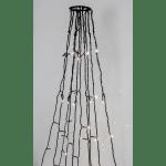 LED āra virtene eglītei/karoga mastam, silti balta 3000K, 10gb. x 7m, 360LED, IP44