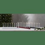 LED Dekoratīvais svečturis Jazz, sarkans IP20, 3V DC STARTRADING