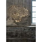 LED āra dekorācija piekarama Mounty Warm white, 40cm, 126LED, IP44, 8 režimi