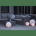 LED āra gaismeklis uzlādējams, ar pulti RGB+W Twilights 50cm, 12LED, IP44
