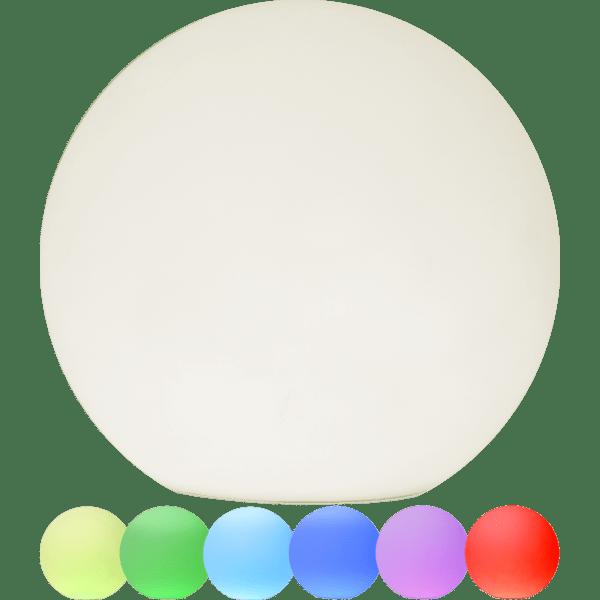 LED āra gaismeklis uzlādējams, ar pulti RGB Twilights 25cm, 12LED, IP44