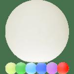 LED āra gaismeklis uzlādējams, ar pulti RGB Twilights 30cm, 12LED, IP44
