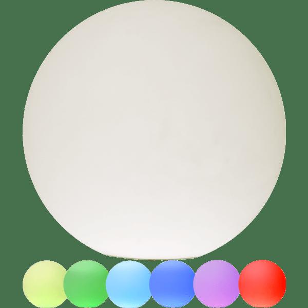 LED āra gaismeklis uzlādējams, ar pulti RGB+W Twilights 40cm, 12LED, IP44