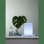 LED āra gaismeklis uzlādējams, ar pulti RGB Twilights 20cm, 8LED, IP44