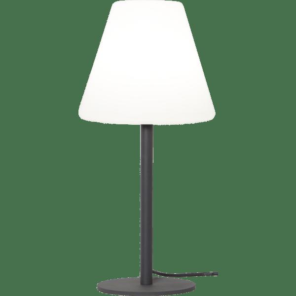 Āra galda lampa Kreta E27, 60cm, IP65, Max 25W