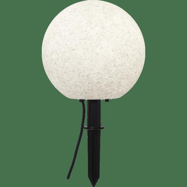 Āra gaismeklis dekoratīvs Stone E27, 29cm, IP65, Max 25W