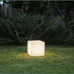 Āra gaismeklis dekoratīvs Square E27, 30cm, IP65, Max 23W