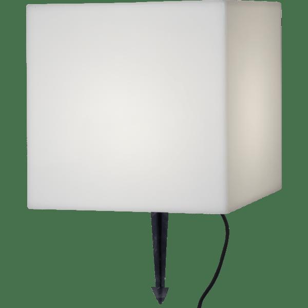 Āra gaismeklis dekoratīvs Square E27, 38cm, IP65, Max 23W