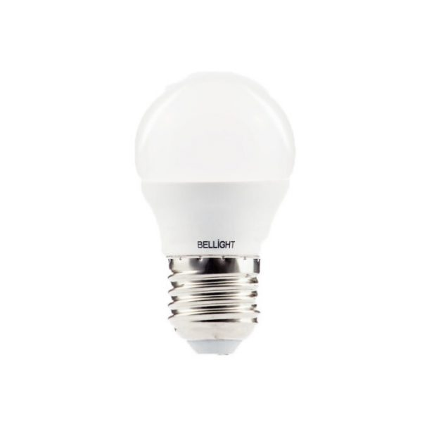 LED spuldze Bellight E27 bumbiņa G45, 5W, 3000K, 400lm