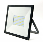LED āra prožektors Bellight SMD 100W, IP65, 4500K, 8000lm, melns