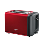 Grauzdiņu tosteris Bosch DesignLine sarkans, 970W, TAT3P424