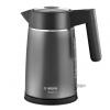 Elektriskā tējkanna Bosch DesignLine 1.7l, Ner. tērauda, 2400W, grafīta, TWK5P475