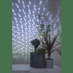 LED āra projektors Sniegpārslas, trīs ātrumi, 6W, IP44, ar taimeri