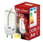 LED spuldze Bellight G4 1,5W, 3000K, 120lm