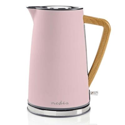 Tējkanna NEDIS KAWK510EPK, Nerūsējošā tērauda, 1.7l, 2200W, rozā