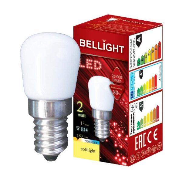 LED spuldze Bellight E14 ST22 230V, 2W, 3000K, 160lm
