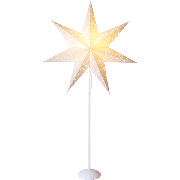 LED dekorācija Zvaigzne DOT, 95x52cm, E14, Max. 25W, IP20
