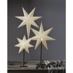LED dekorācija Zvaigzne FROZEN, 80x55cm, E14, Max. 25W, IP20