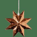 LED dekorācija metāla zvaigzne CLASSIC, 28cm, E14 Max. 25W, IP20