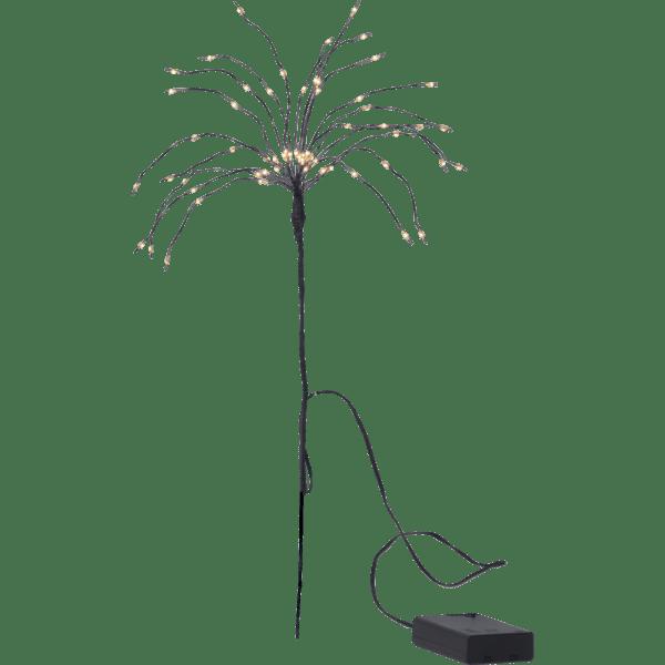 LED dekorācija koka zars Firework Twig, 20gb. Nano stieples, 42cm, 60LED, IP20, 3xAA