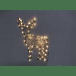 LED dekorācija sienas Briedis CUPID, 2,1w, 70cm, 70LED, IP20