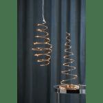 LED piekarams dekors DIZZY, varš, silti balta gaisma, 40cm, 25LED, IP20