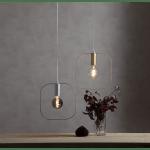 Griestu lampa E27 IP20, Max. 25w Kvadrātveida, zelta