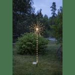 LED āra dekorācija ar 8 režīmiem Salūts, 1m, 152LED, IP44, 4xAA, ar taimeri