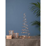 LED dekors konuss DIZZY, varš, silti balta gaisma, 40cm, 25LED, IP20