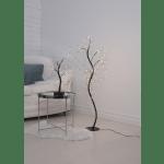 LED dekorācija Koks Willy, Nano silti balta gaisma, 40cm, 70LED, IP20, 3xAA