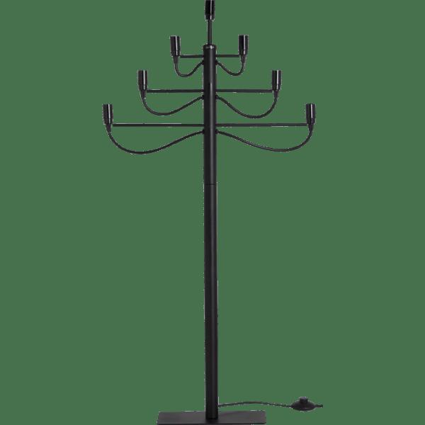 LED Metāla svečturis, melns E14 120CM IP20 STARTRADING