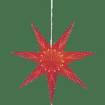 LED dekorācija papīra zvaigzne KATABO, 1m, E14 Max. 25W, IP20