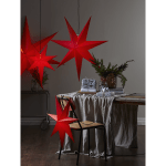 LED dekorācija papīra zvaigzne ROZEN, 1m, E14 Max. 25W, IP20