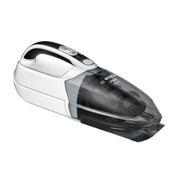 Bezvadu rokas putekļu sūcējs Bosch Move 14.4V BHN14N, balts