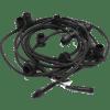 Āra virtene dārza, savienojama CONNECTA Premium, 7,35m, 10xE27, max. 2000W, IP44