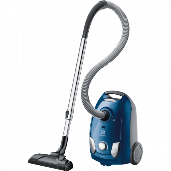 Putekļu sūcējs ar maisiņu Electrolux EasyGo 750W, EEG41CB, H12, zils